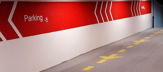 خط کشی پارکینگ خودرو